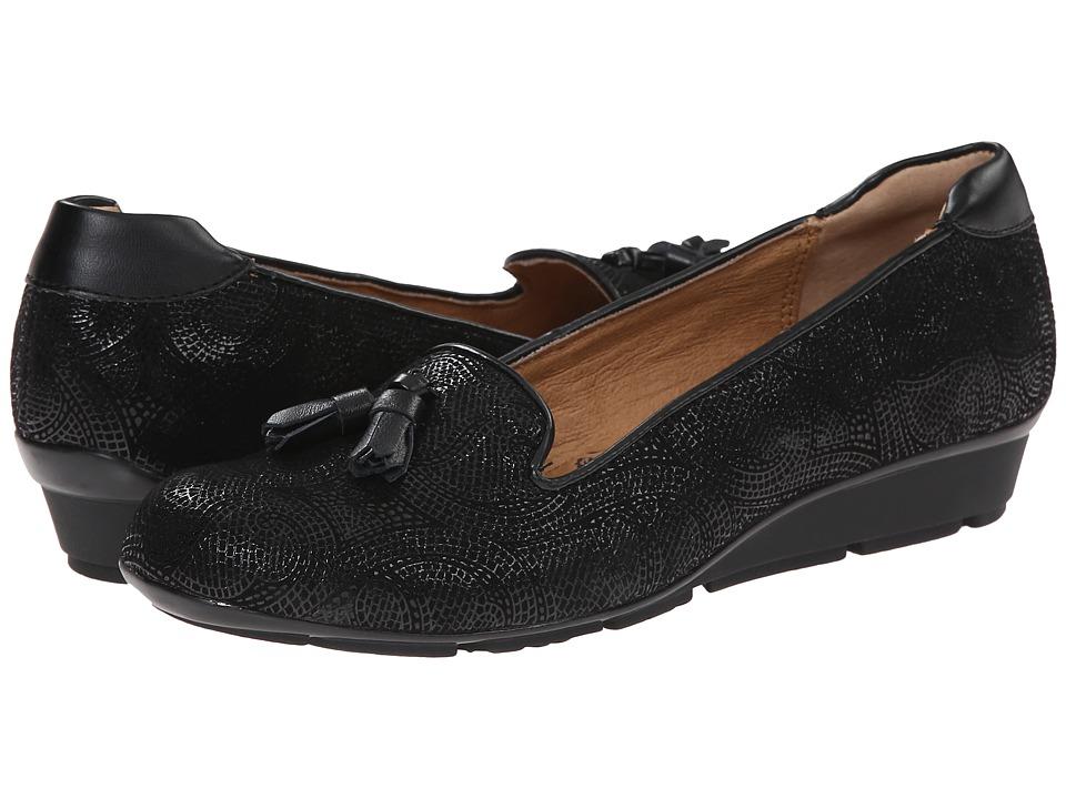 Sofft - Vespera (Black Paisley) Women's Shoes