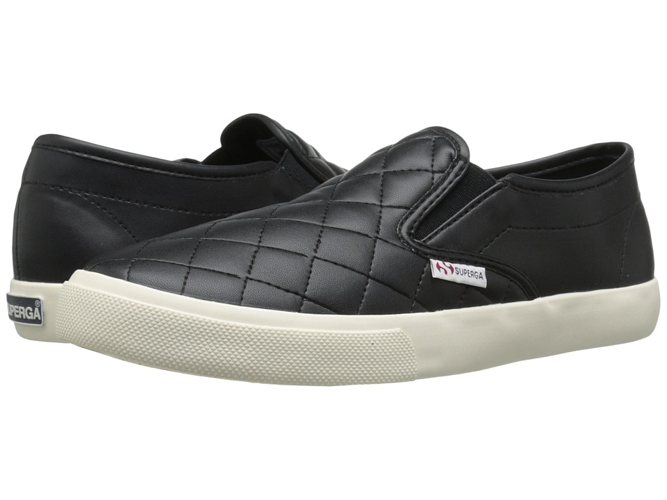 Superga 2311 Quilted (Black) Women