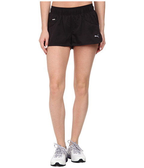 PUMA - Pure Core Running Short (Black/Tonal) Women's Shorts