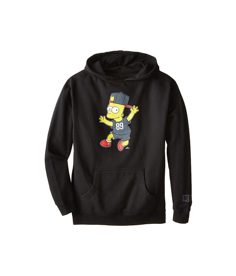 Neff Kids - Stoked Hoodie (Big Kids) (Black) Boy