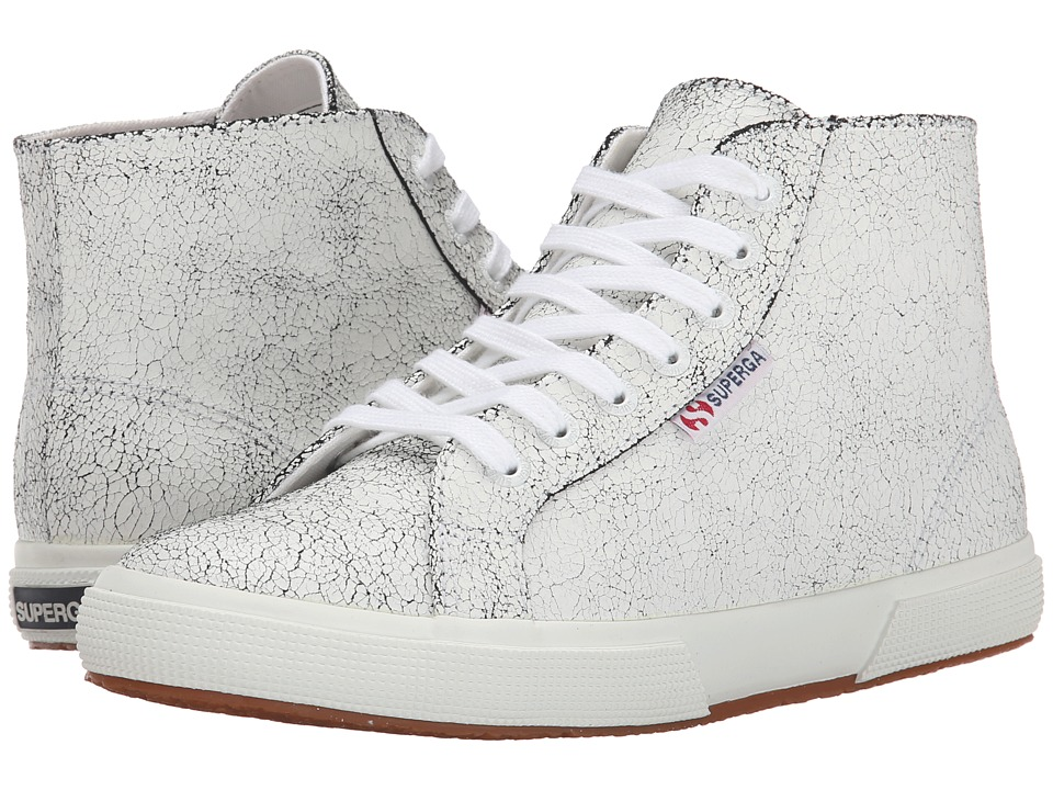 Superga - 2095 Cracked LEAW (White) Women