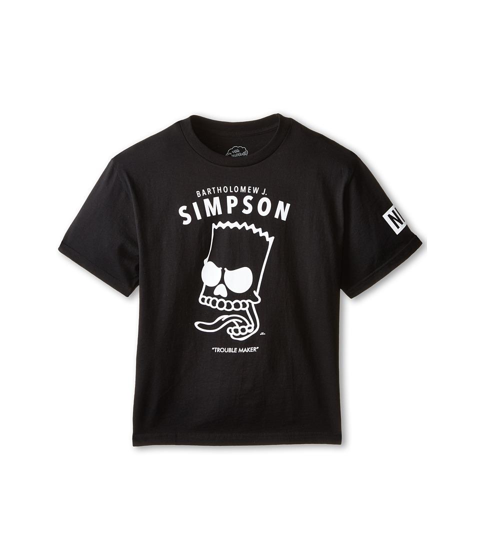 Neff Kids - Bartholomew J Tee (Big Kids) (Black) Boy's T Shirt