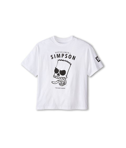 Neff Kids - Bartholomew J Tee (Big Kids) (White) Boy's T Shirt