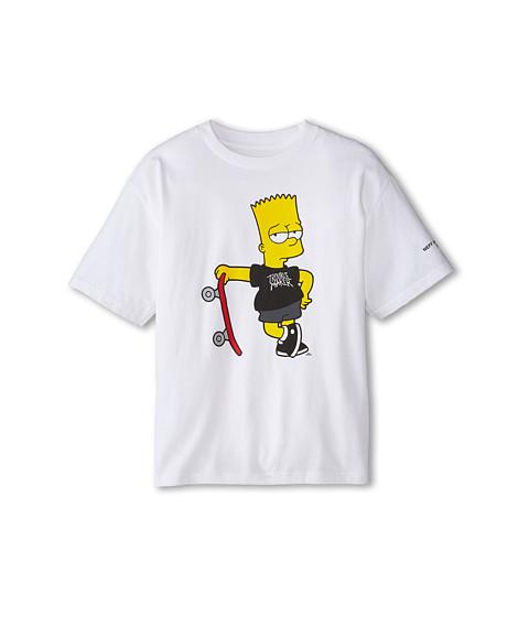 Neff Kids - Too Cool Tee (Big Kids) (White) Boy's T Shirt