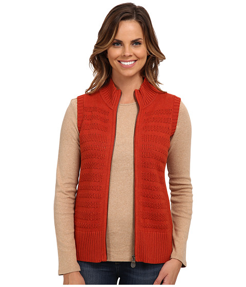 Pendleton - Zipster Vest (Red Ochre Heather) Women