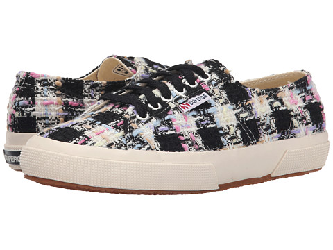 Superga - 2750 Boucle (Pink Multi) Women's Lace up casual Shoes