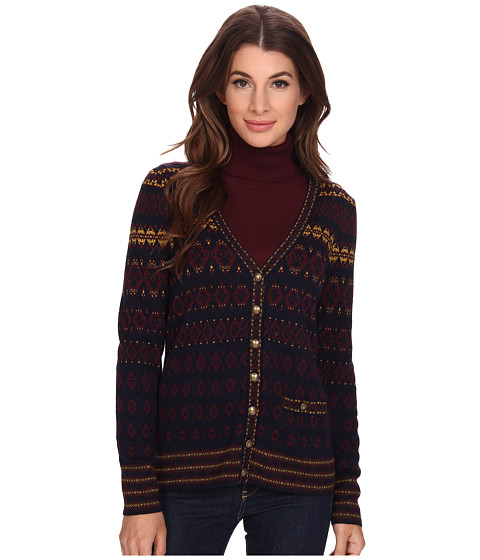 Pendleton - All American Cardigan (Midnight Navy Multi) Women's Sweater
