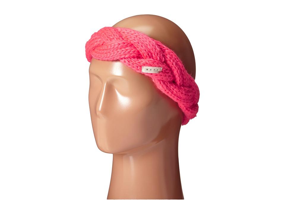 Neff - Bando Headband (Coral) Headband