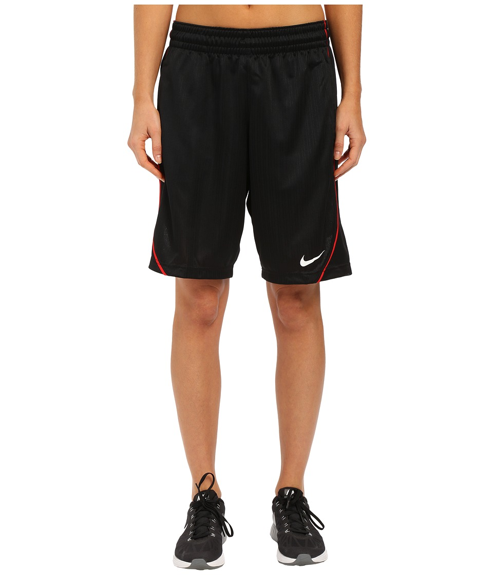 Nike - Essential Basketball Short (Black/University Red/White) Women's Shorts