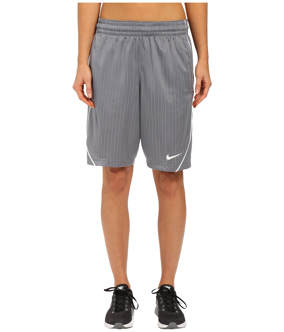 Nike - Essential Basketball Short (Cool Grey/White/White) Women's Shorts