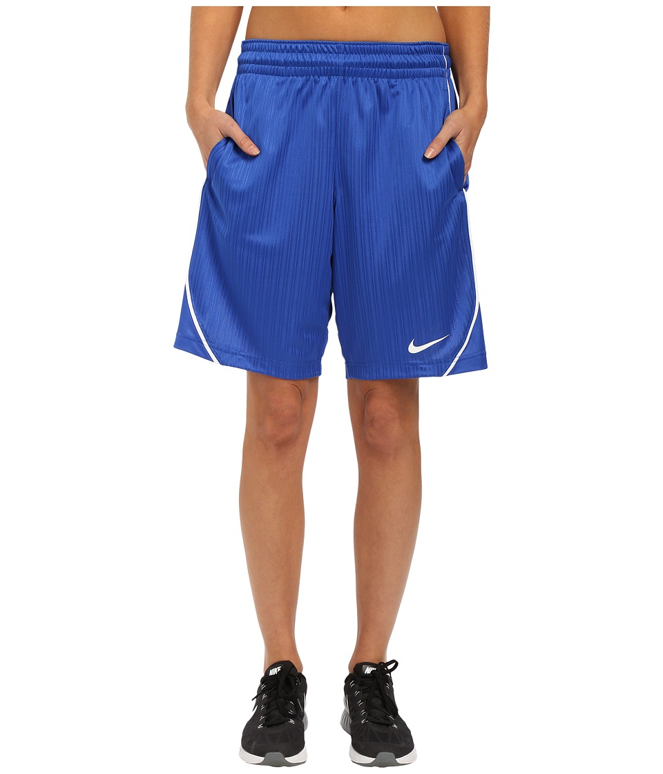 Nike - Essential Basketball Short (Game Royal/White/White) Women's Shorts