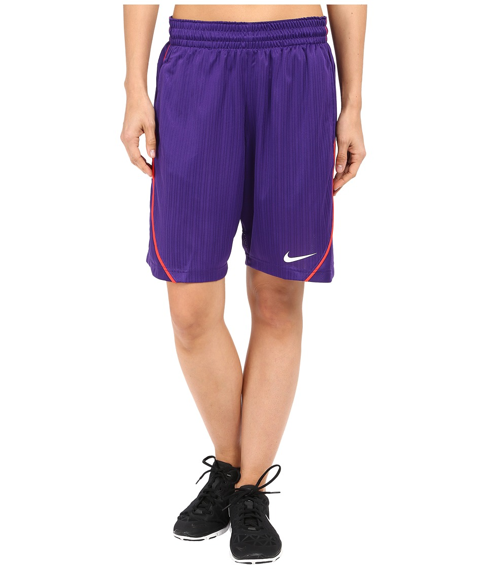 Nike - Essential Basketball Short (Court Purple/Light Crimson/White) Women's Shorts