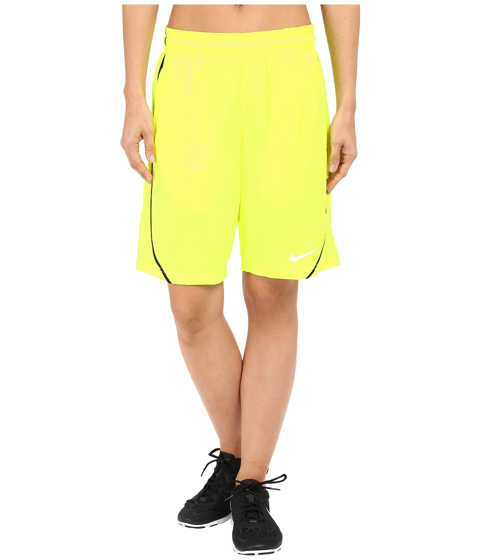 Nike - Essential Basketball Short (Volt/Black/White) Women's Shorts