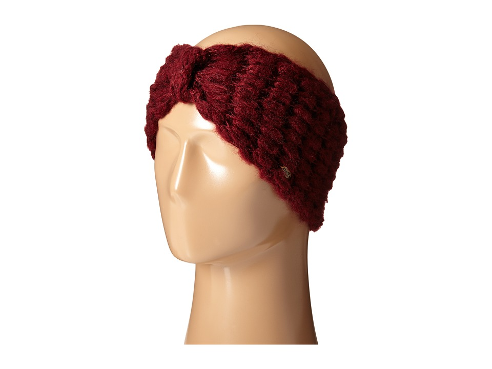 Neff - Marley Turband Headband (Maroon) Headband