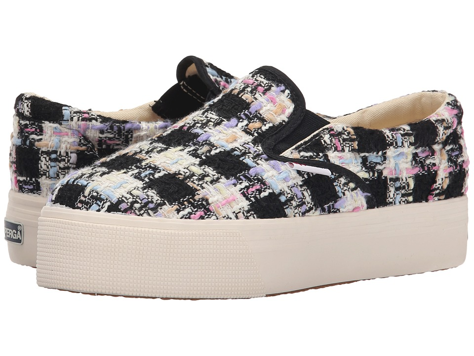 Superga - 2314 Boucle (Pink Multi) Women's Lace up casual Shoes