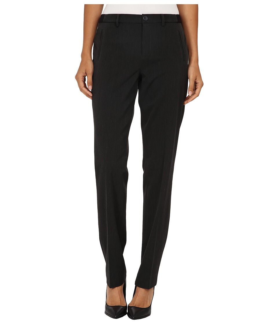 NYDJ - Sandrah Slim Career Trouser (Dark Heather) Women's Casual Pants