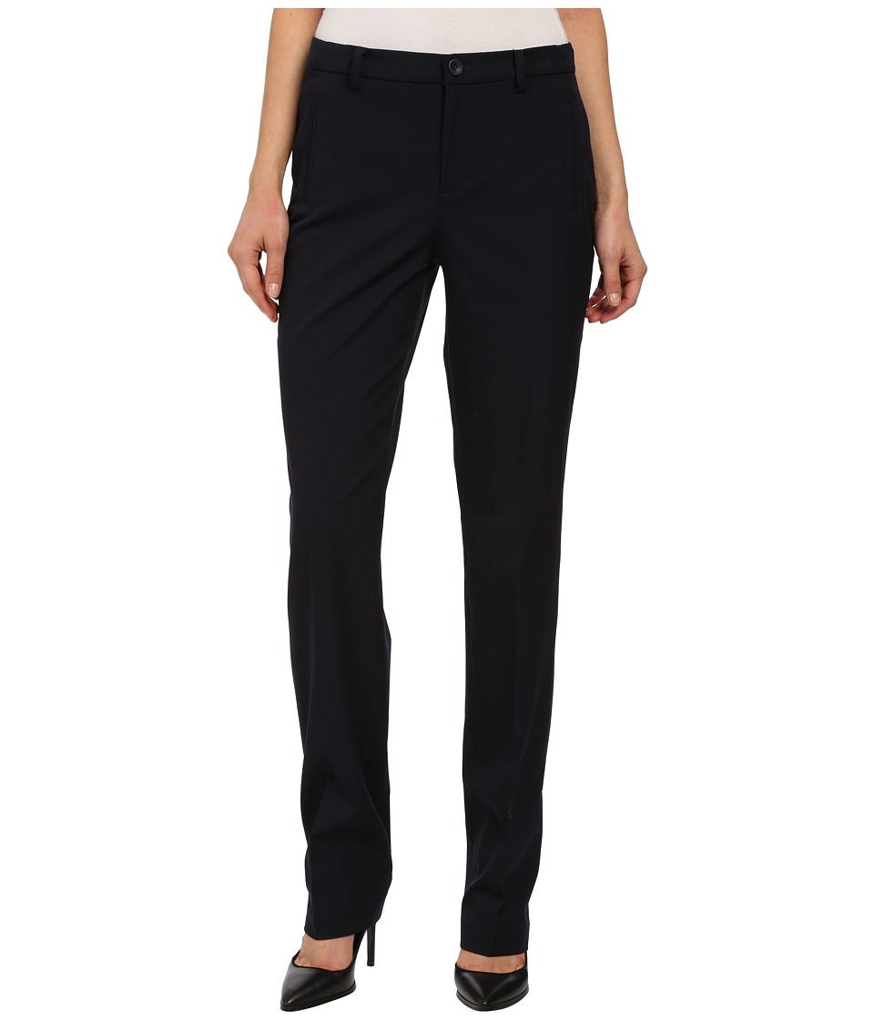 NYDJ - Sandrah Slim Career Trouser (Navy) Women's Casual Pants
