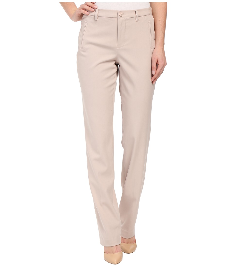 NYDJ - Sandrah Slim Career Trouser (Tan Memoir) Women's Casual Pants