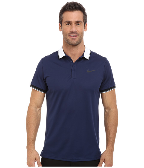 Nike - Court Polo (Midnight Navy/Midnight Navy/Black) Men