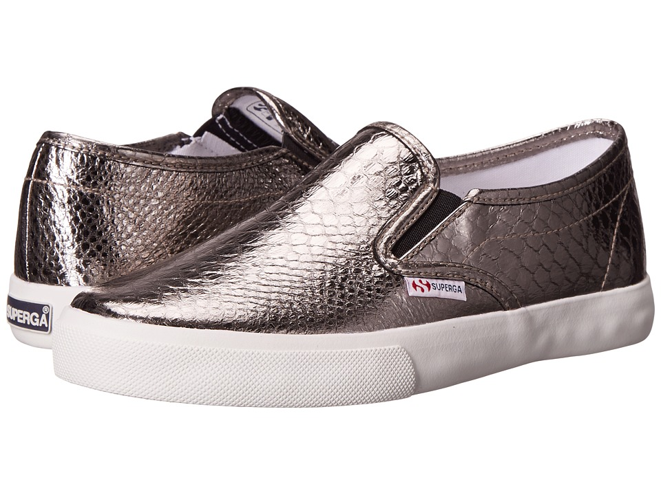 Superga - 2311 Metallics (Graphite) Women