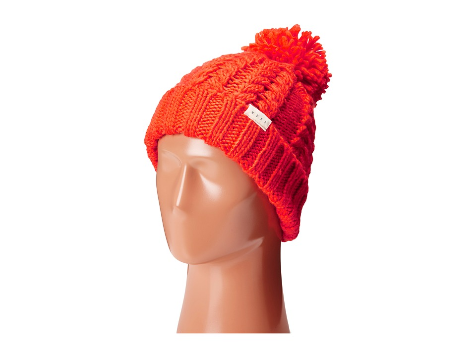 Neff - Kaycee Beanie (Orange) Beanies