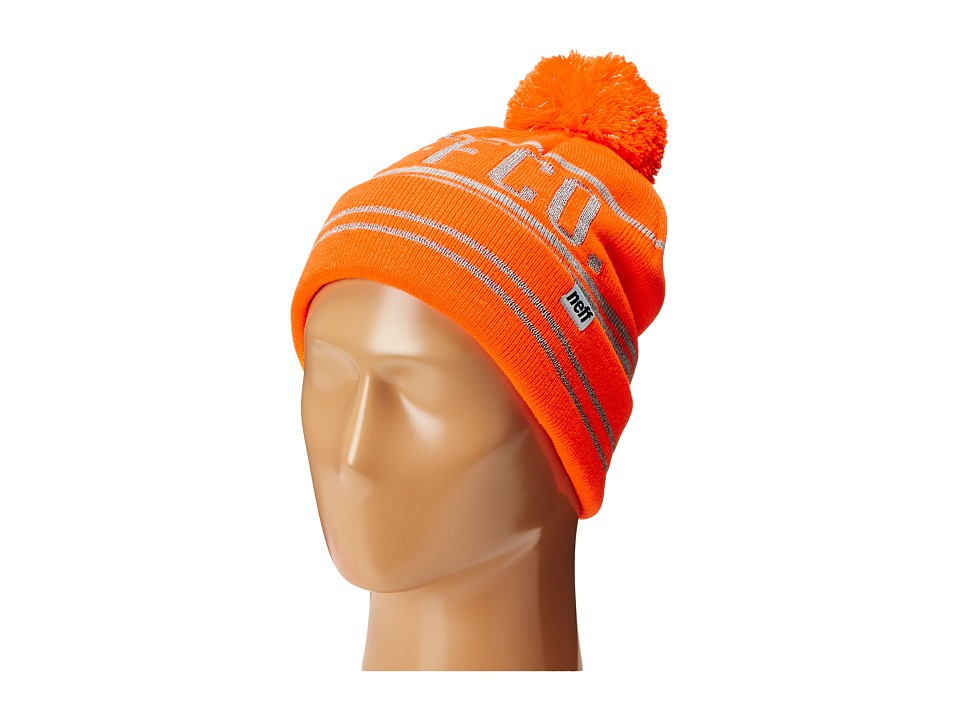 Neff - Reflect Beanie (Orange) Beanies