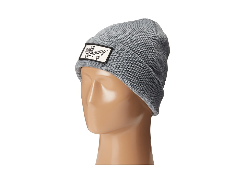 Neff - Neff Co Beanie (Grey) Beanies