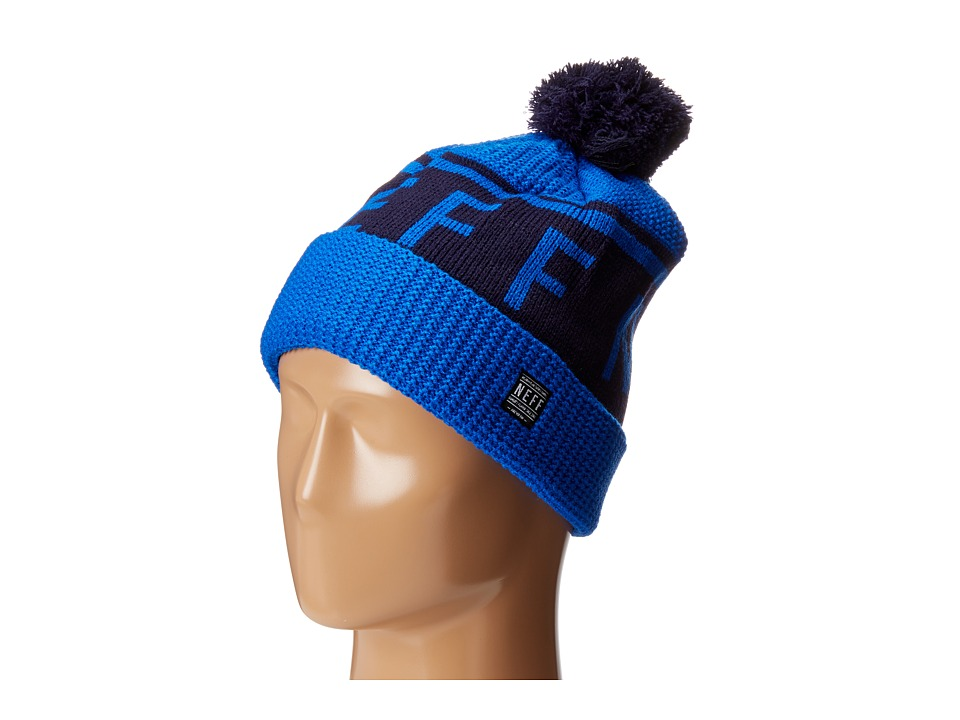 Neff - Cable Beanie (Blue) Beanies