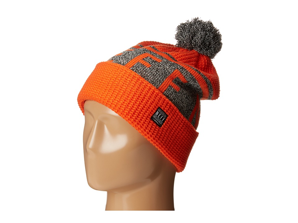 Neff - Cable Beanie (Orange) Beanies