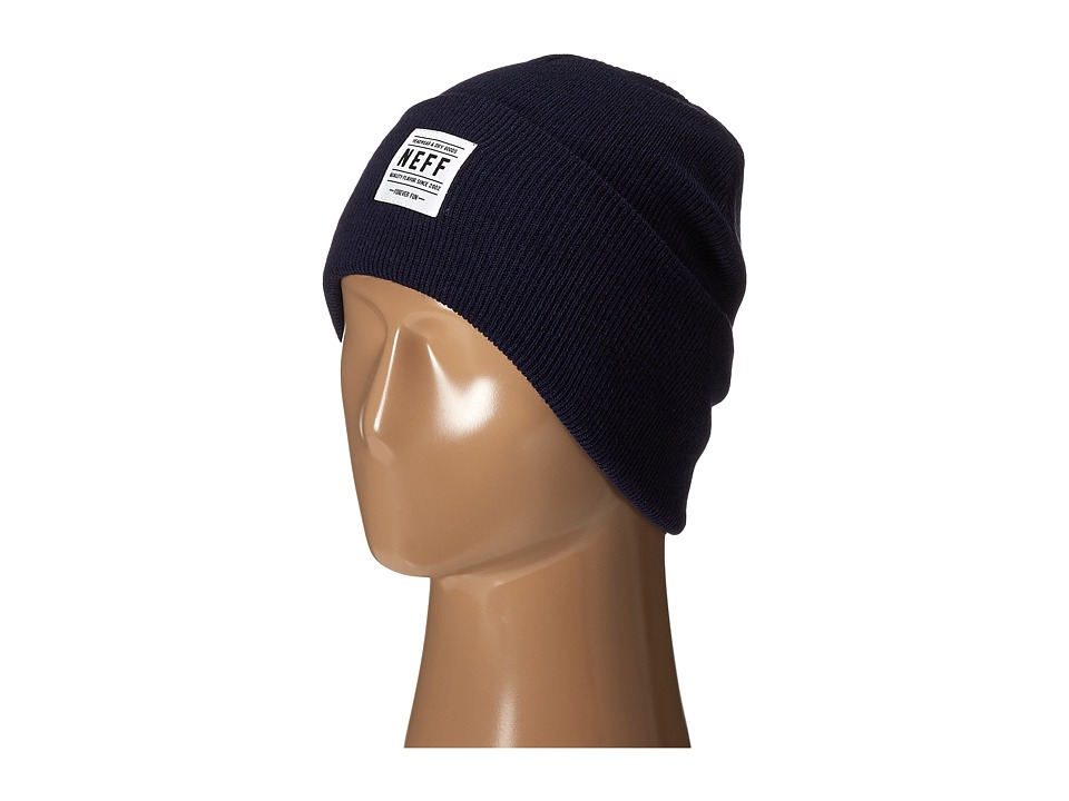 Neff - Lawrence Beanie (Navy) Beanies