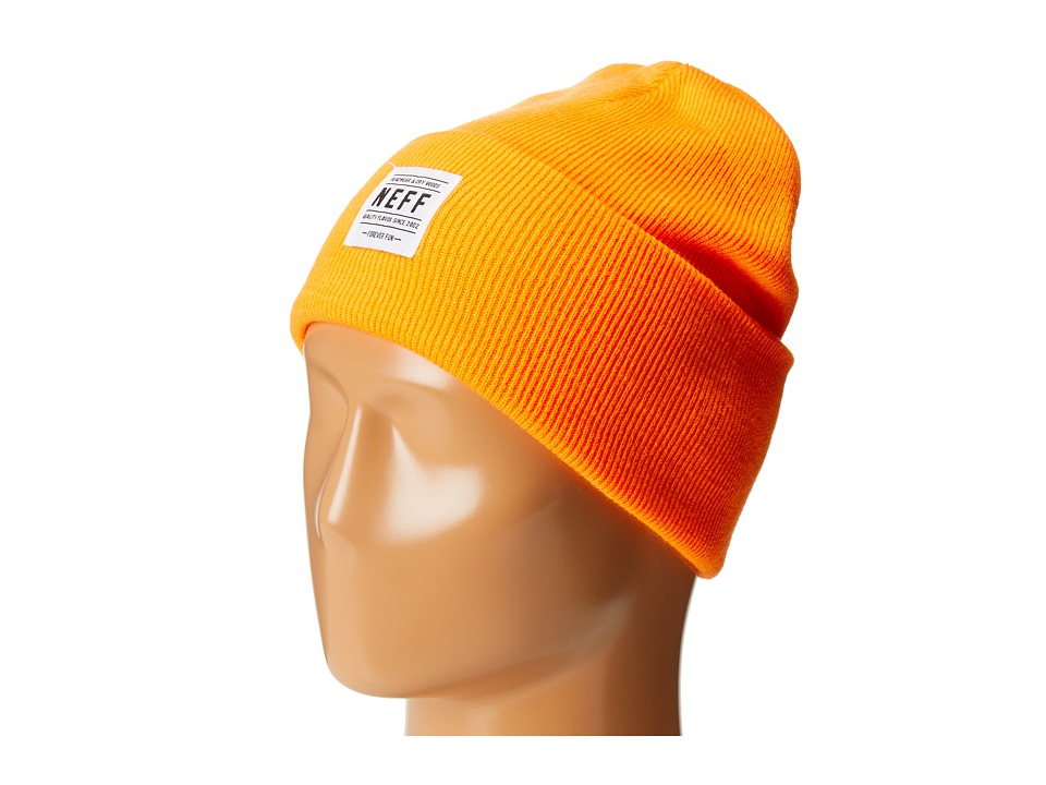 Neff - Lawrence Beanie (Orange) Beanies
