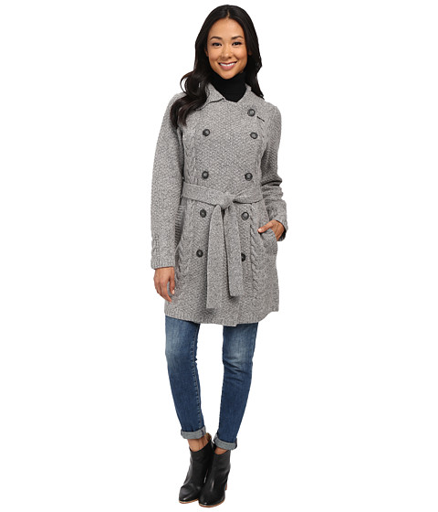 Pendleton - Tweedy Trench (Grey Tweed) Women