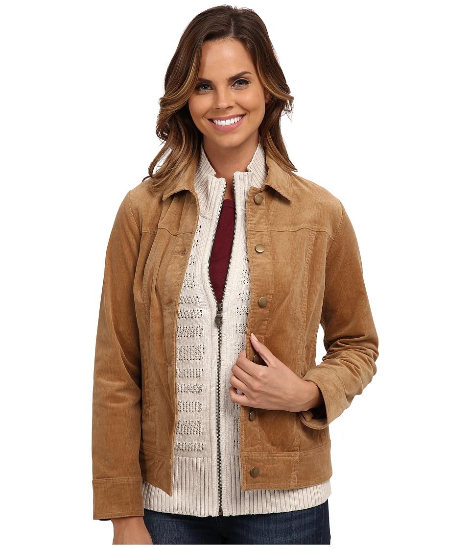 Pendleton - Cassidy Corduroy Jacket (Camel) Women's Jacket