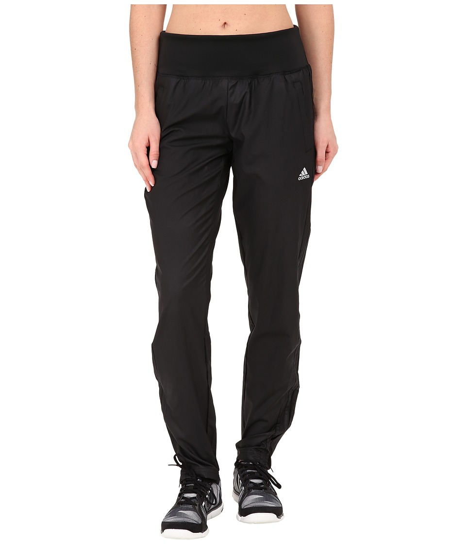 adidas - Derby Track Woven Pant (Black/Black/Matte Silver) Women's Casual Pants