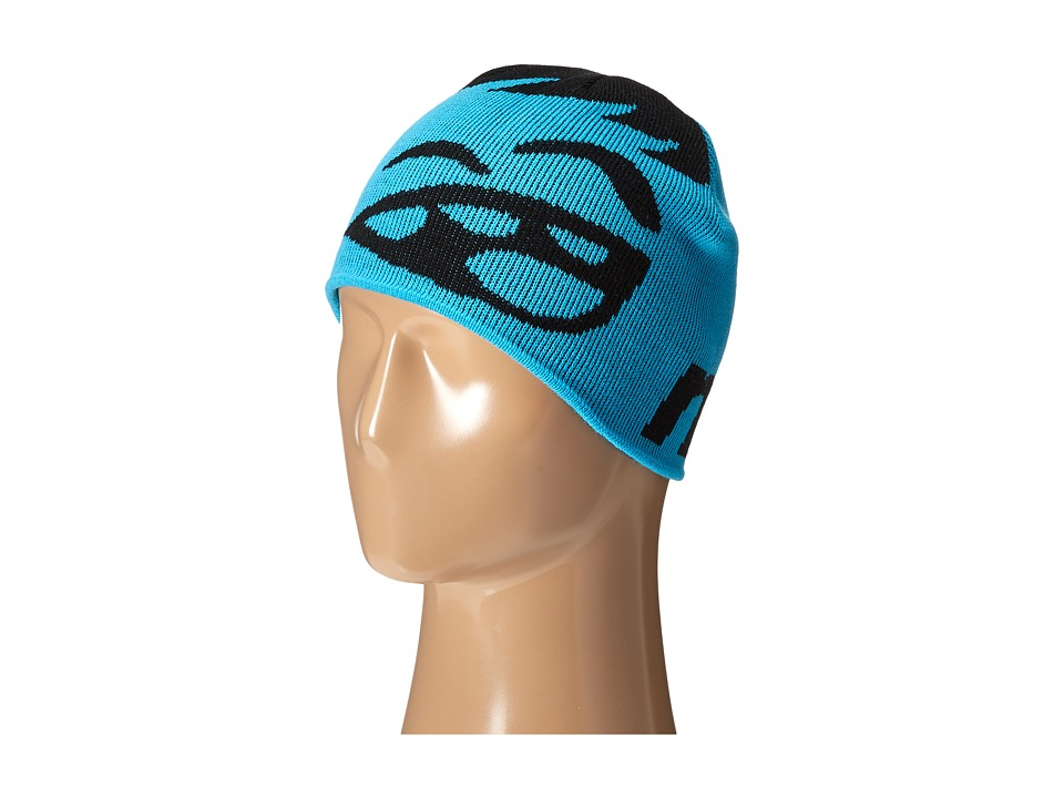 Neff - Youth Happy Beanie (Black/Cyan) Beanies