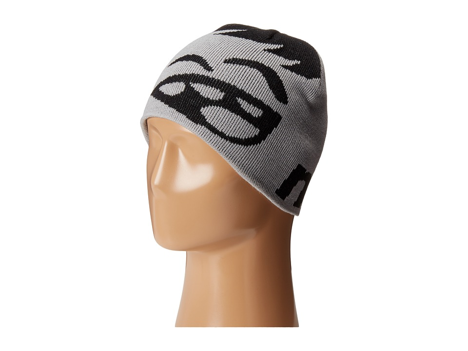 Neff - Youth Happy Beanie (Black/Grey) Beanies