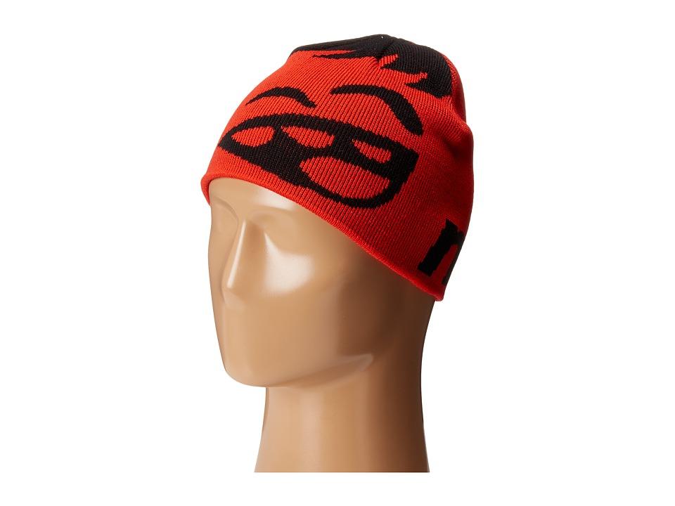 Neff - Youth Happy Beanie (Black/Red) Beanies