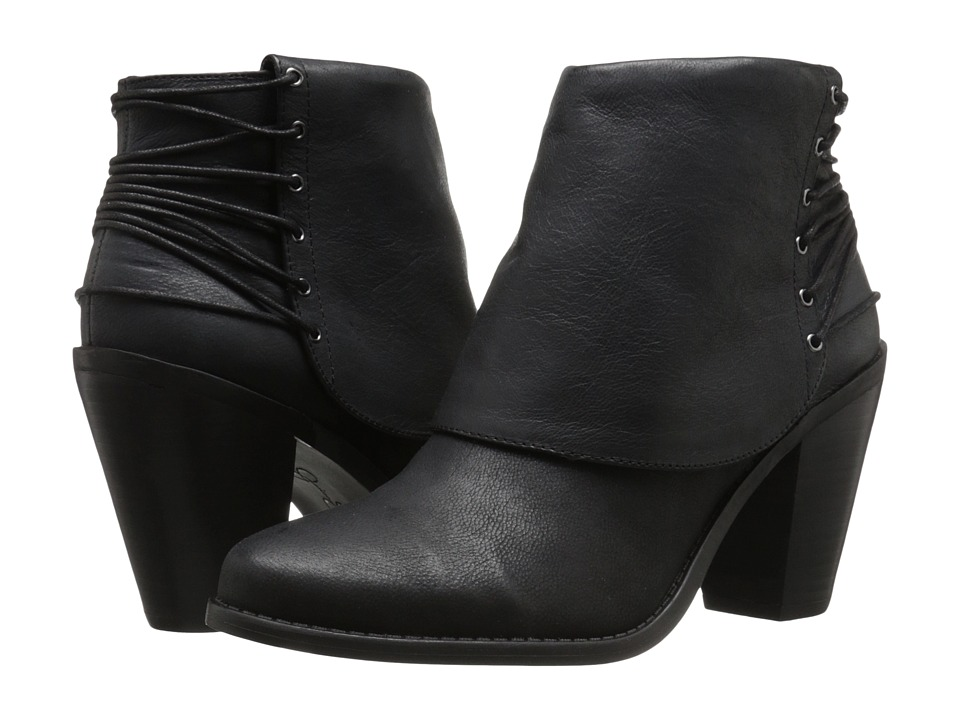 Jessica Simpson - Calvey (Black) Women's Pull-on Boots