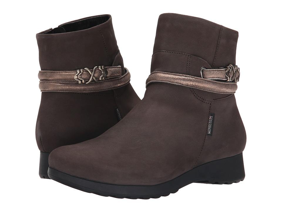 Mephisto - Azzura (Grey Bucksoft/Dark Taupe) Women's Shoes