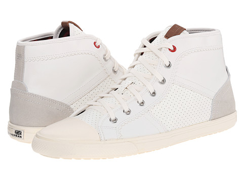 Ben Sherman - Mike (White) Men's Shoes