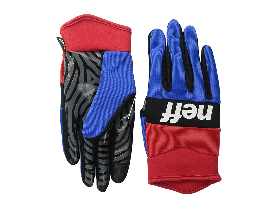 Neff - Ripper Glove (Red/Blue) Extreme Cold Weather Gloves