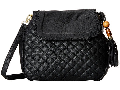 Big Buddha - Carlton (Black) Cross Body Handbags