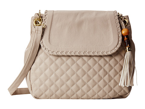 Big Buddha - Carlton (Grey) Cross Body Handbags