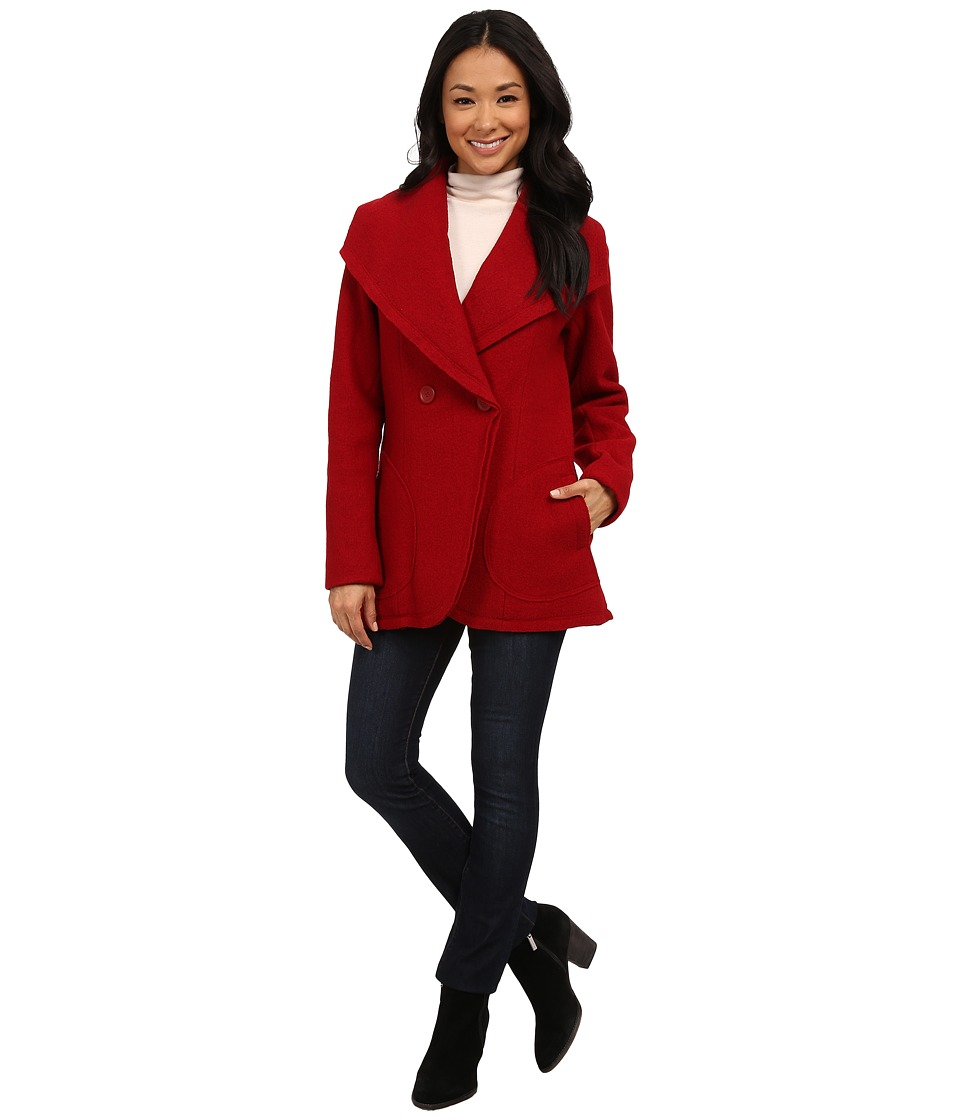 Pendleton - Boiled Wool Coat (Red Rock 2) Women