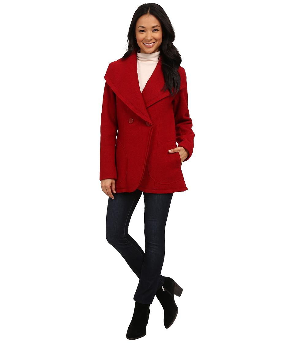 Pendleton - Boiled Wool Coat (Red Rock 2) Women