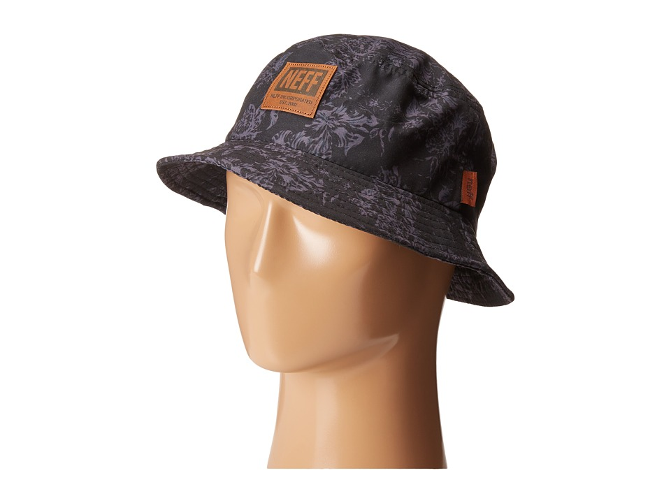 Neff - Prime Bucket (Black) Baseball Caps