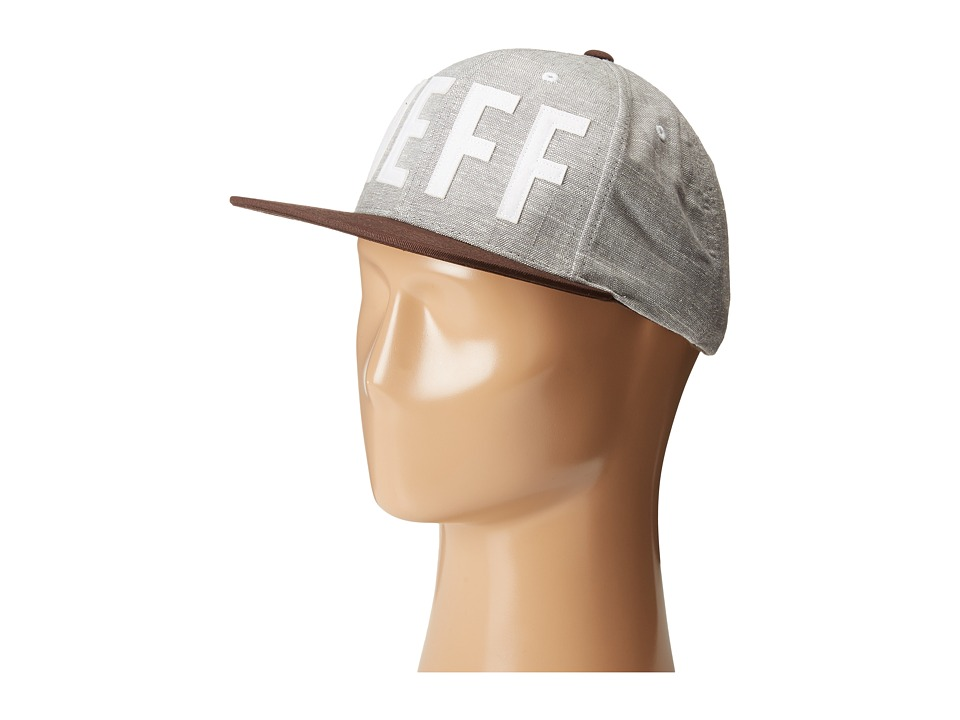 Neff - Brother Cap (Grey) Baseball Caps