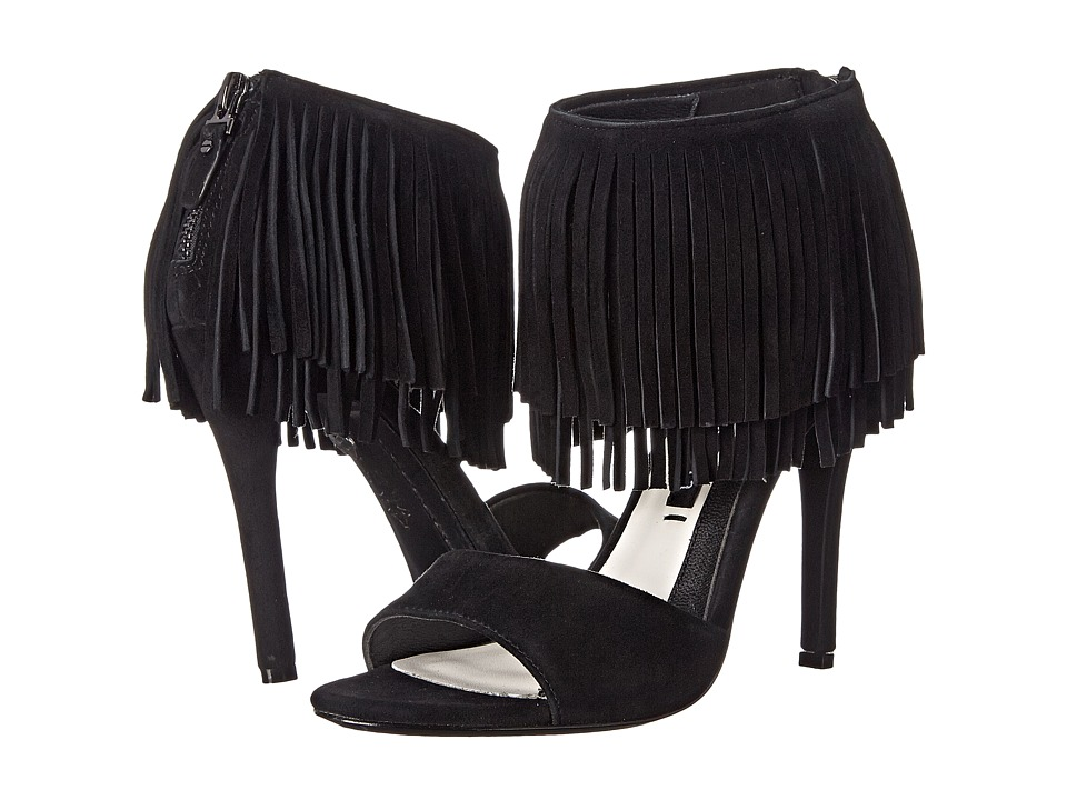 Alice + Olivia - Gulia (Black Kid Suede) High Heels