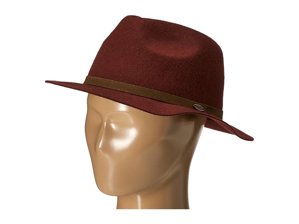 Neff - Elsa Hat (Maroon) Baseball Caps