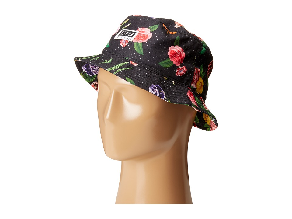 Neff - Rose Bucket (Black) Baseball Caps